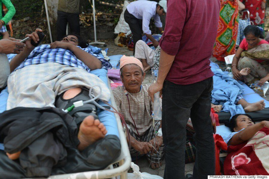 Nepal Hit By Second Huge 7.3 Magnitude Earthquake Weeks After First