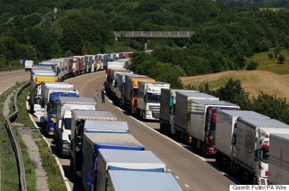 Eurotunnel Services Return To Normal After Migrant Activity Causes Holiday Gridlock On Busiest Travel...