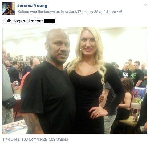 Hulk Hogan Mocked By New Jack Over 'Racist Slur Sex