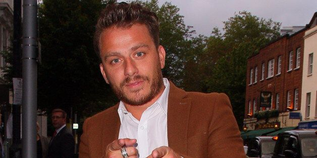 LONDON, UNITED KINGDOM - MAY 08: Dapper Laughs attending the London Cabaret Club VIP opening night at...