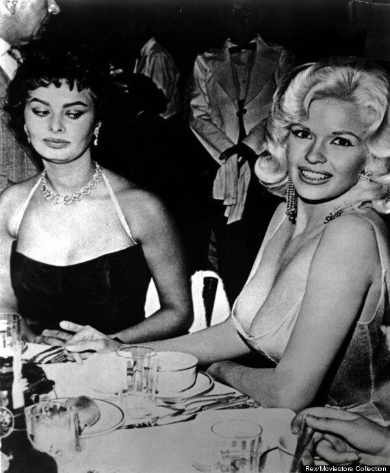 Sophia Loren Explains Jayne Mansfield 'Side-Eye' Photo, FINALLY!