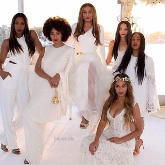 Beyonce Steals The Show As Bridesmaid At Mother's