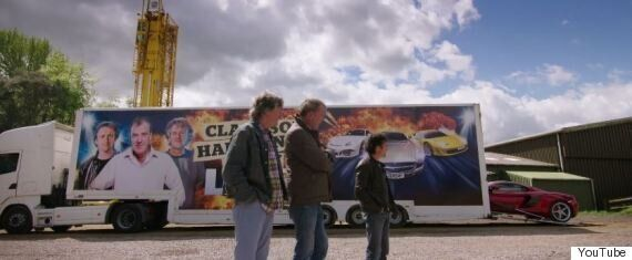 Jeremy Clarkson Back With 'Top Gear' Co-Presenters Richard Hammond And James May In New Tour Promo Clips