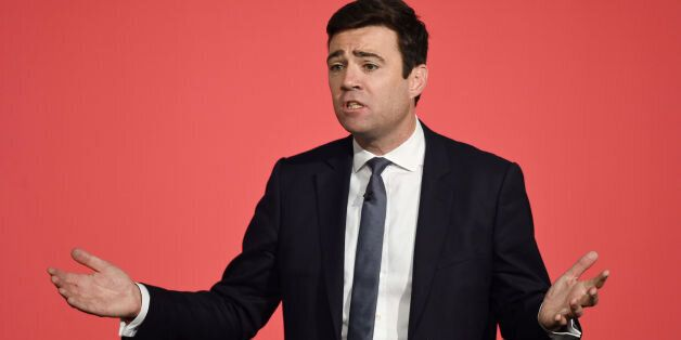 Embargoed to 2200 Monday July 27File photo dated 28/06/15 of Labour leadership contender Andy Burnham,...