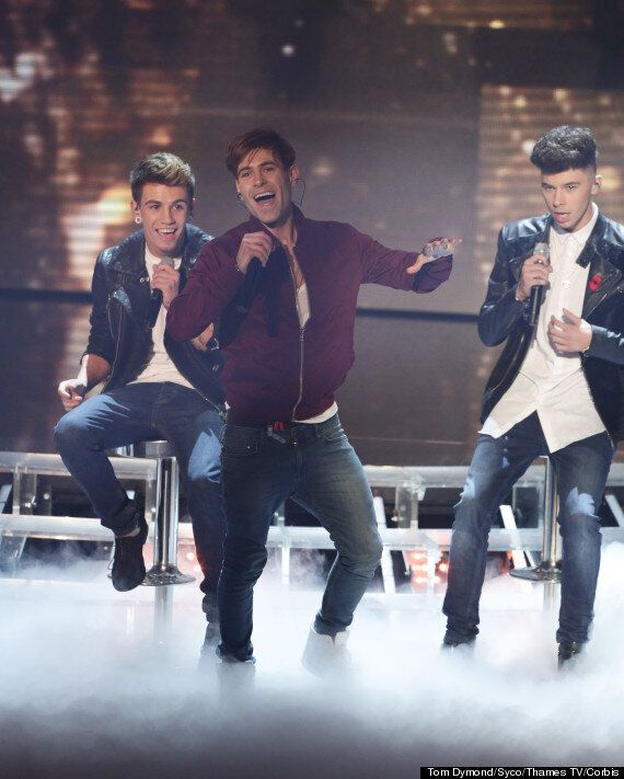 'X Factor' Stage Invasion: Lee Nelson Crashes Stereo Kicks' Performance Of 'You Are Not