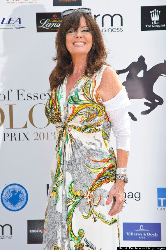 'I'm A Celebrity' 2014: Carl Fogarty and 'Allo 'Allo Actress Vicki Michelle Land In Australia... After...