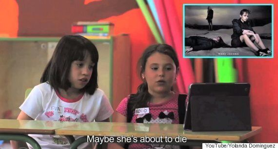 Artist Creates Video Of Kids Reacting To Iconic Fashion Images, And They're Not