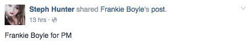 Frankie Boyle's Labour Party Column In The Guardian Has Everyone Agreeing With Him