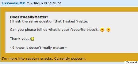 Jeremy Corbyn and Liz Kendall Discuss Biscuits, Vests, and Hip Hop With Mumsnet