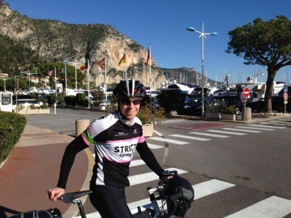 In A Matter Of Days, 19-Year-Old Tom Davies Will Become The Youngest Person To Cycle Around The