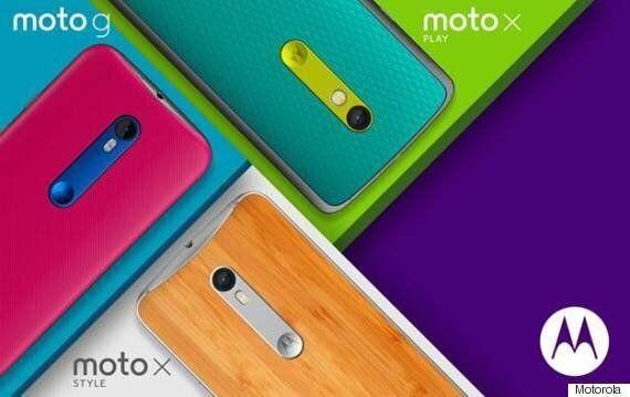 Motorola Unveils New Moto G And Moto X