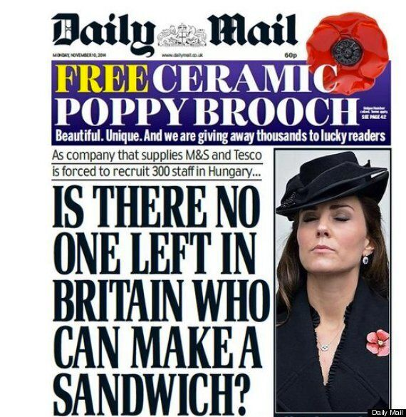 Daily Mail Sandwich Headline Sparks Snack Based Twitter