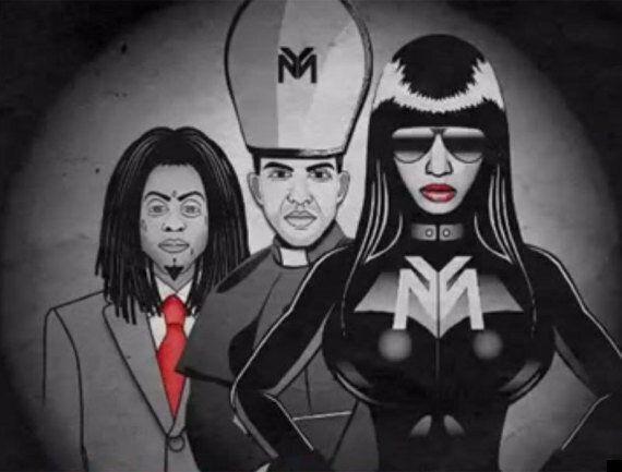 Nicki Minaj 'Only' Lyric Video Accused Of Glorifying Nazism As Rapper Portrays Hitler-Like