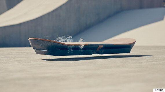 Lexus Hoverboard Teaser Video Reveals August Release