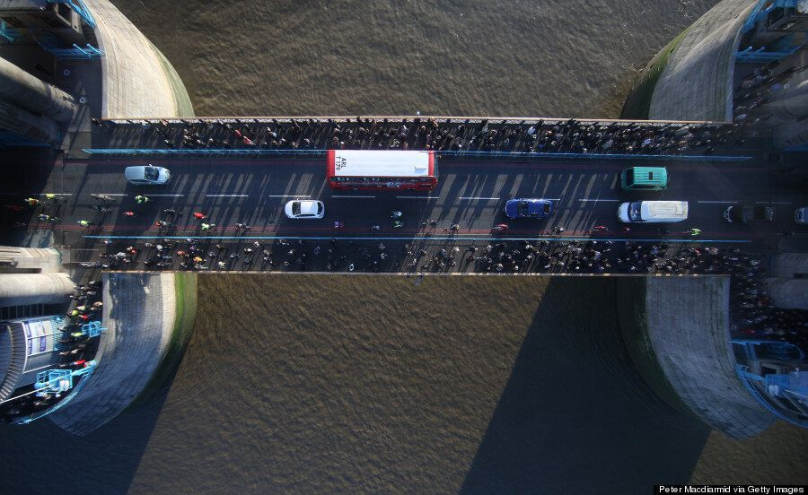 Tower Bridge Glass Walkway Gives Incredible New View Of London And The