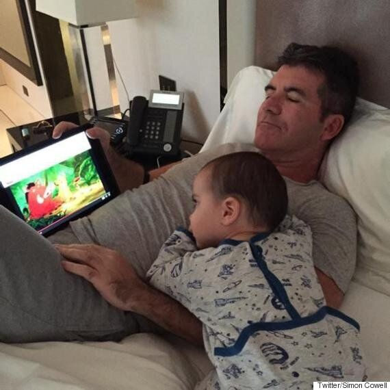 Simon Cowell Reveals Concerns Over Son's Transatlantic Accent... Claims Squiddly And Diddly Could Lead...