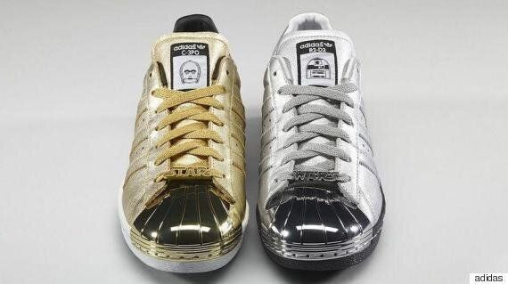 db05e677d66df Adidas Star Wars Trainers 2015: C-3PO and R2-D2 Shoes Have Just Been ...