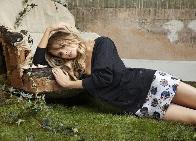 Cressida Bonas Models Mulberry's Spring/Summer 2015