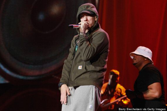 Eminem Threatens To Punch Lana Del Rey In The Face On New Track 'Shady Cxvpher' And References Ray Rice...
