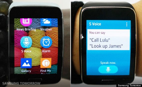 Samsung's 'Unofficial' Review Of The Gear S Is Literally The
