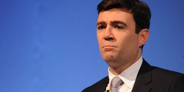 Shadow Secretary of State for Health Andy Burnham speaking during The Royal College of Midwives Annual...