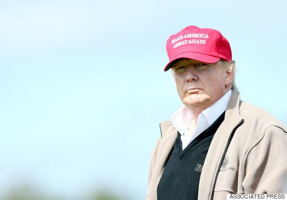Donald Trump Brings 2016 Presidential Campaign To Scotland At The Women's British