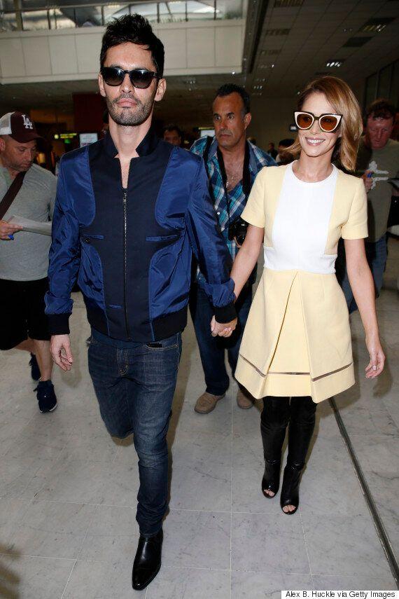 Cannes 2015: Cheryl Fernandez-Versini And Husband Jean-Bernard Arrive At Film Festival