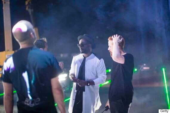 Watch Will.i.am and Lexus Remix That Power Using A 'Giant Laser Harp' Played By