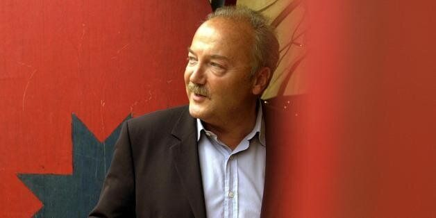 Former Labour M.P. George Galloway at the Edinburgh International Book Festival,