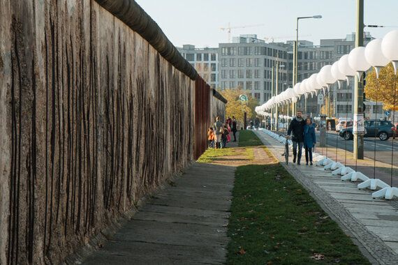 The Walls That Still Stand 25 Years After the Fall of the Berlin