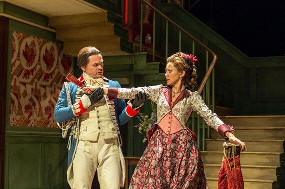 Review: The Beaux Stratagem, National Theatre