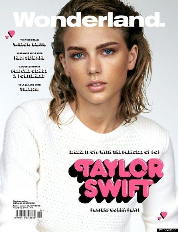 Taylor Swift's Wonderland Cover: '1989' Creator Is Unrecognisable In Her Latest Photoshoot