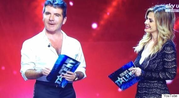 Simon Cowell Makes Embarrassing Live TV Fail, Accidentally Calling 'Italia's Got Talent' 'The X Factor'