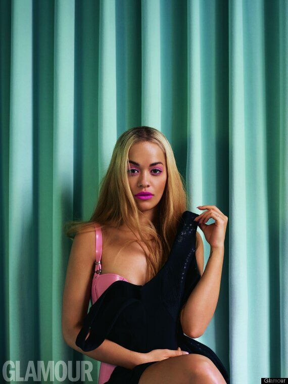Rita Ora Is A Beyoncé Look-A-Like In New Glamour Magazine Photoshoot