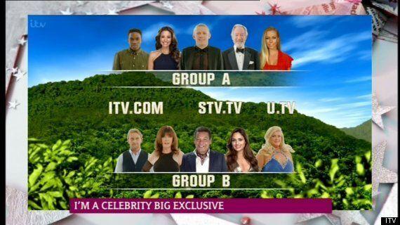 'I'm A Celebrity' 2014: Line-Up Split Into Two Groups For 'Celebrity Slammer'