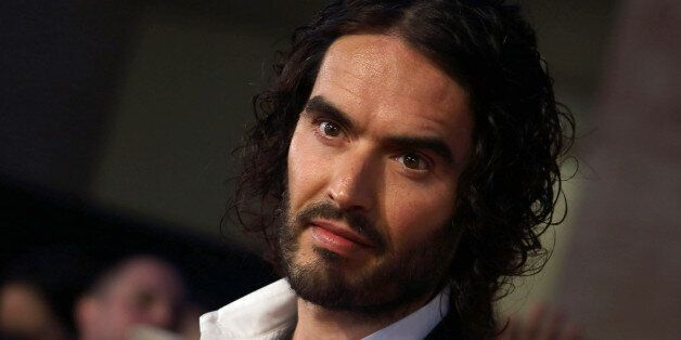 LONDON, ENGLAND OCTOBER 06: Russell Brand attends the Pride of Britain awards at The Grosvenor House...