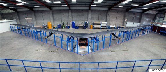 Facebook Unveils Solar-Powered Drone As Part Of Internet.Org