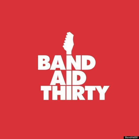 #BandAid30: Bob Geldof Reveals New Logo, Plus Competition To Attend Recording Along With One Direction...