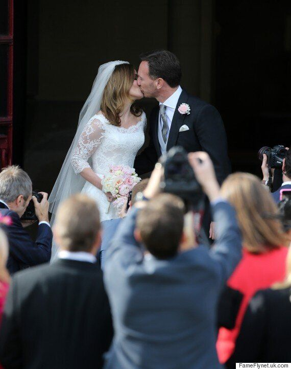 Geri Halliwell Wedding: Spice Girls Debuts Dress Before Marrying Christian Horner In Church Ceremony