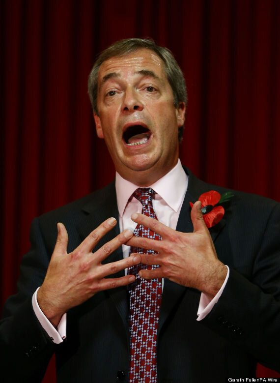 Nigel Farage Caught On Camera Calling For A US-Style Privately Run
