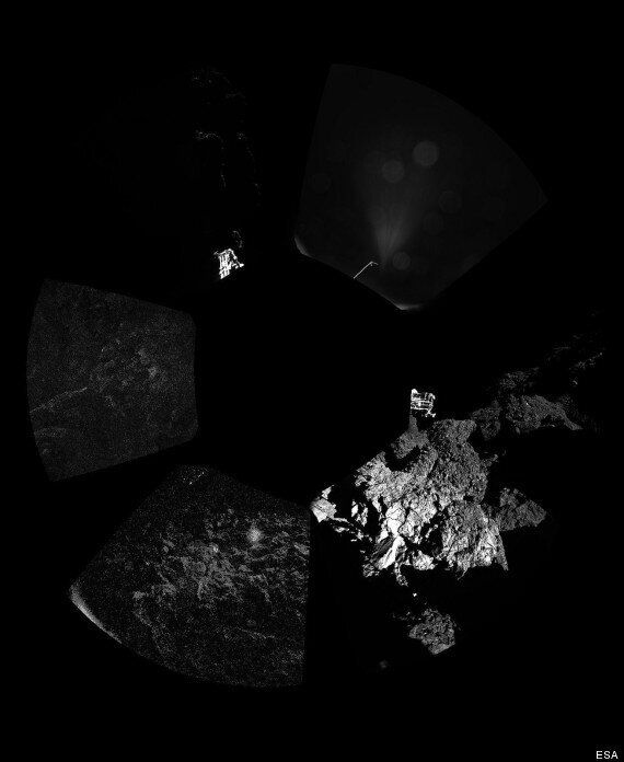 Rosetta Comet Landing: Latest Pictures And News After Dramatic Multiple