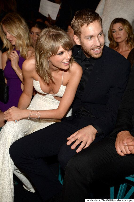 Taylor Swift And Calvin Harris' Cosy Billboard Music Awards Display Fuels Dating Rumours