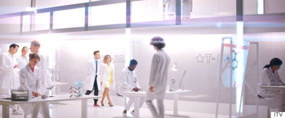 'The X Factor' 2015 Trailer: Olly Murs And Caroline Flack Play Scientists In New Clip, While Simon Cowell...
