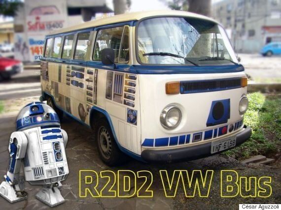 This Incredible R2D2 VW Camper IS The Droid You're Looking