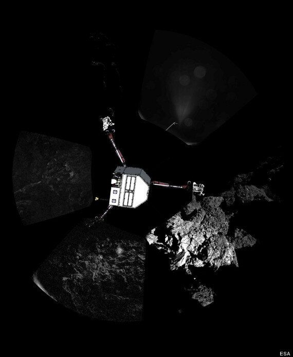 Comet Lander May Attempt To 'Hop' To