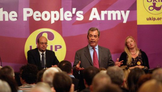 'Our Maps Are Like Dad's Army': Out And About With Ukip's By-Election