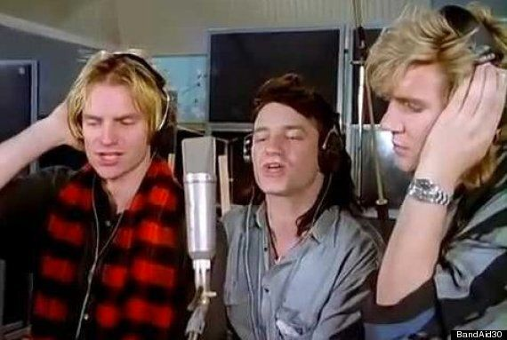 Mark Ellen Remembers The Tension At Original Band Aid Recording In 1984, And Who Finally Broke The