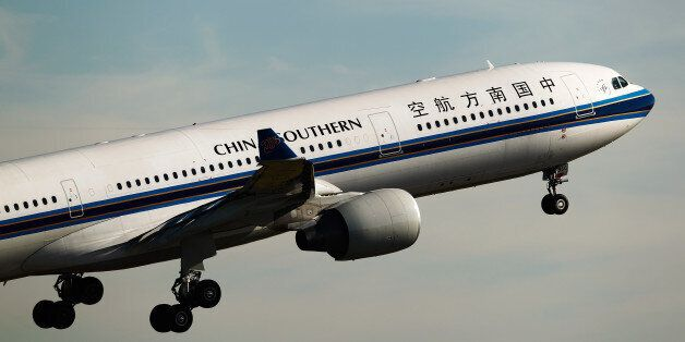 A China Southern Airlines flight is forced to make emergency landing after running out of fuel (File...