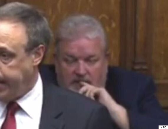 Blaydon MP David Anderson Eats His Own Ear Wax On Live