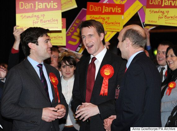 Andy Burnham Backed By Dan Jarvis In Labour Leadership